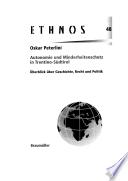 Autonomie und Minderheitenschutz in Trentino S  dtirol
