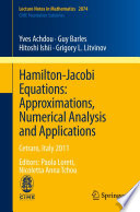 Hamilton Jacobi Equations  Approximations  Numerical Analysis and Applications