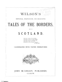 Historical, Traditionary and Imaginative Tales of the Borders and of Scotland