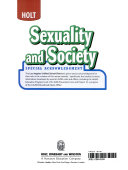Sexuality and Society Grade 9