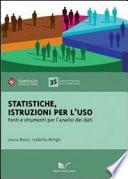 Statistiche  istruzioni per l uso