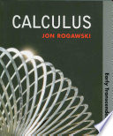 Calculus  Early Transcendentals  Paper