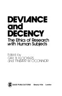 Deviance And Decency