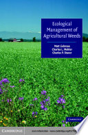 Ecological Management of Agricultural Weeds