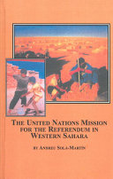 United Nations Mission for the Referendum in Western Sahara
