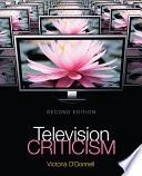 Ebook Television Criticism Epub Victoria O'Donnell Apps Read Mobile