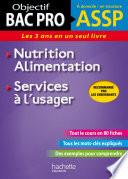 Fiches ASSP Services    l usager  Nutrition Alimentation