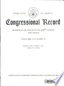Congressional Record  V  153  PT  6  March 26  2007 to April 17  2007