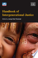 Handbook of Intergenerational Justice Book PDF
