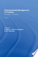 Environmental Management In Practice: Vol 3 : which human intervention has been or continues...