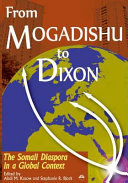 From Mogadishu to Dixon: the Somali diaspora in a global context