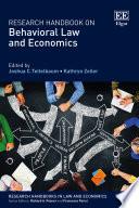 Research Handbook on Behavioral Law and Economics