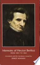 Memoirs of Hector Berlioz