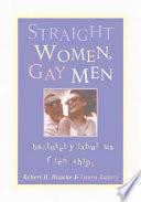 Straight Women  Gay Men