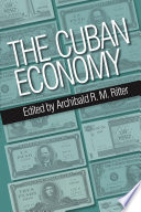 The Cuban Economy book