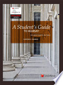 A Student s Guide to Hearsay