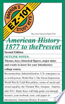 American History  1877 to the Present