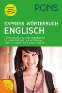 PONS Express Wörterbuch Englisch - Deutsch / Deutsch - Englisch