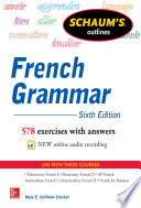 Schaum s Outline of French Grammar
