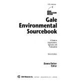 Gale Environmental Sourcebook