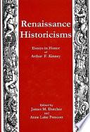 Renaissance Historicisms
