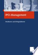 IPO-Management