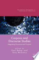 Corpora And Discourse Studies