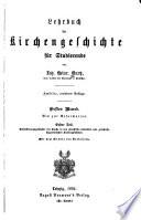Lehrbuch der Kirchengeschichte für Studierende