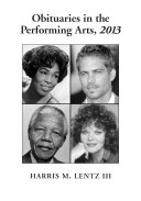 download ebook obituaries in the performing arts, 2013 pdf epub