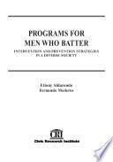 Programs for Men who Batter