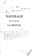 Naufrage de la frégate la Méduse