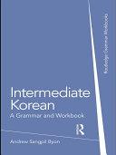 Intermediate Korean Book