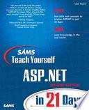 Sams Teach Yourself ASP NET in 21 Days