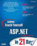Sams Teach Yourself ASP.NET in 21 Days