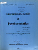International Journal Of Psychosomatics