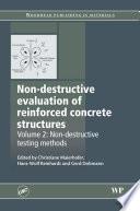 Non Destructive Evaluation of Reinforced Concrete Structures
