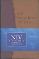 Niv Study Bible Journal