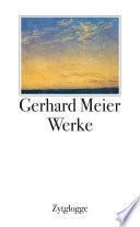 Werke 1 bis 4 Gerhard Meier