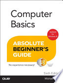 Computer Basics Absolute Beginner S Guide Windows 8 Edition