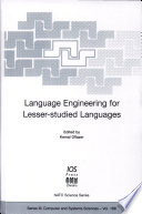 Language Engineering for Lesser studied Languages