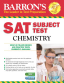 Barron s S  A  T  Subject Test Chemistry with CD ROM