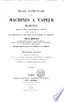 Trait     l  mentaire des machines    vapeur marines
