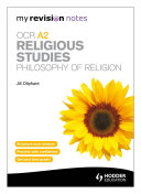 My Revision Notes  OCR A2 Religious Studies  Philosophy of Religion