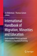 download ebook international handbook of migration, minorities and education pdf epub
