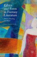 download ebook ethics and form in fantasy literature pdf epub