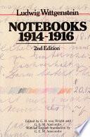 Notebooks  1914 1916