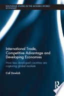International Trade Competitive Advantage And Developing Economies