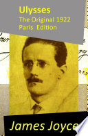 Ulysses   The Original 1922 Paris Edition