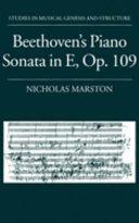 Beethoven s Piano Sonata in E  Op  109
