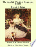 The Selected Works of Honor  de Balzac